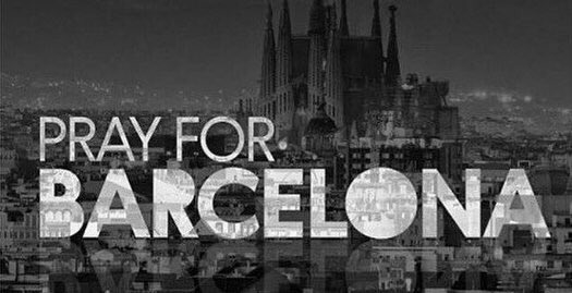 #PrayforBarcelona