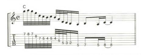 本日のエクササイズは素早いアルペジオです。#ギター練習 #ギター初心者