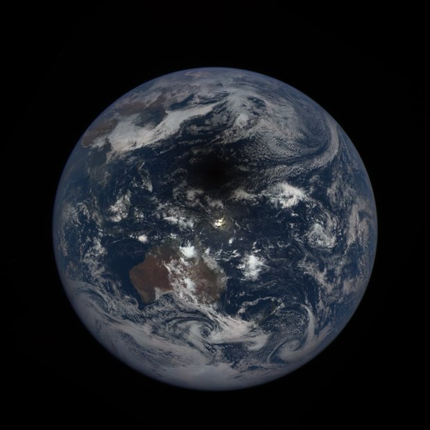 Solar eclipse 2017: Watch satellites track moon's shadow across the U.S
