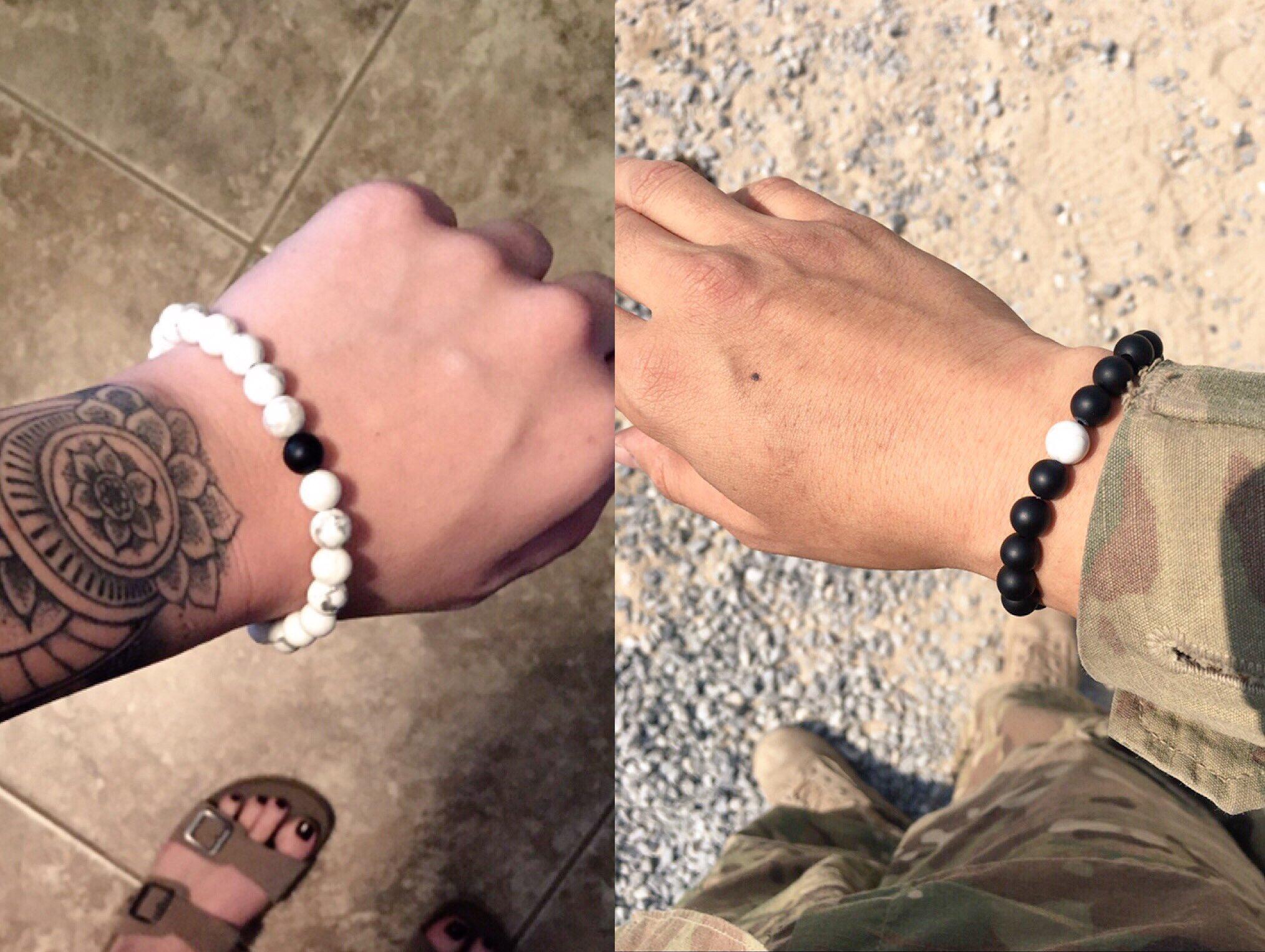 'Distance Bracelets keep you connected no matter the Distance' ��❤️ https://t.co/umKAdwWYVt https://t.co/o8kciERsjB