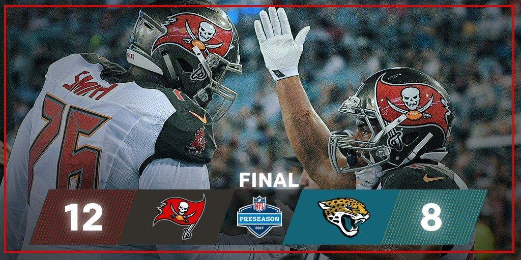 We're FINAL. Bucs win!  #TBvsJAX https://t.co/xY24TRCiv0