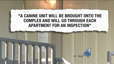 K-9 unit search has Davis apartment tenants looking for answers