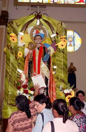Misas y festejos por san Jacinto, patrono del cantón Yaguachi
