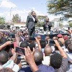 PHOTOS – Uhuru Tours New Kenyatta Market with Nairobi Governor Elect Sonko
