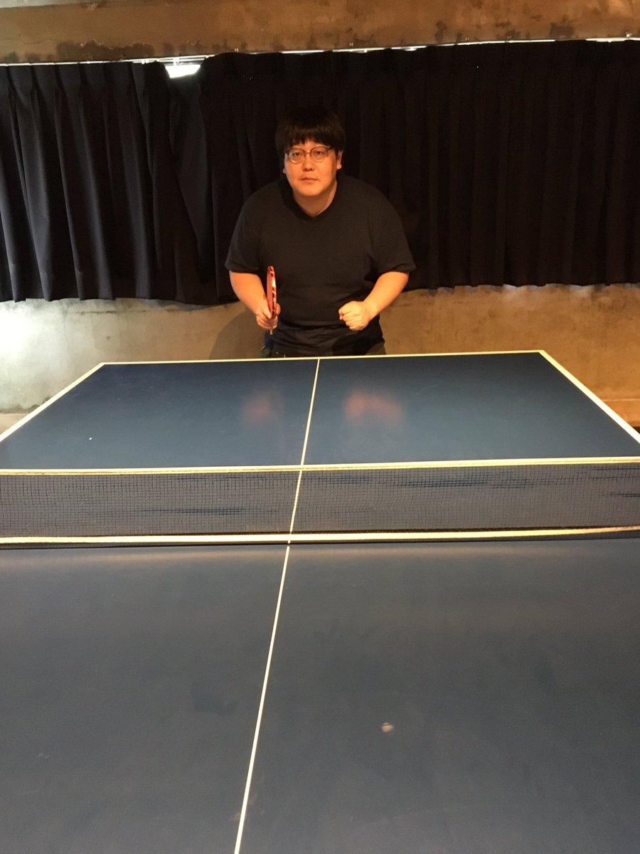 誕生日にBUTTERFLYのラケットをいただいたので。卓球、はじめました。ピンポンの愛称が可愛い卓球。王子サーブや、チキ