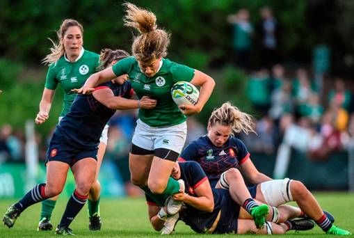 Ireland's hopes of a World Cup semi-final dashed by powerful French side