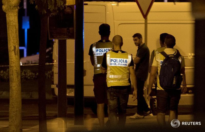 Spain foils bomb plot and hunts for the driver who killed 13 in Barcelona