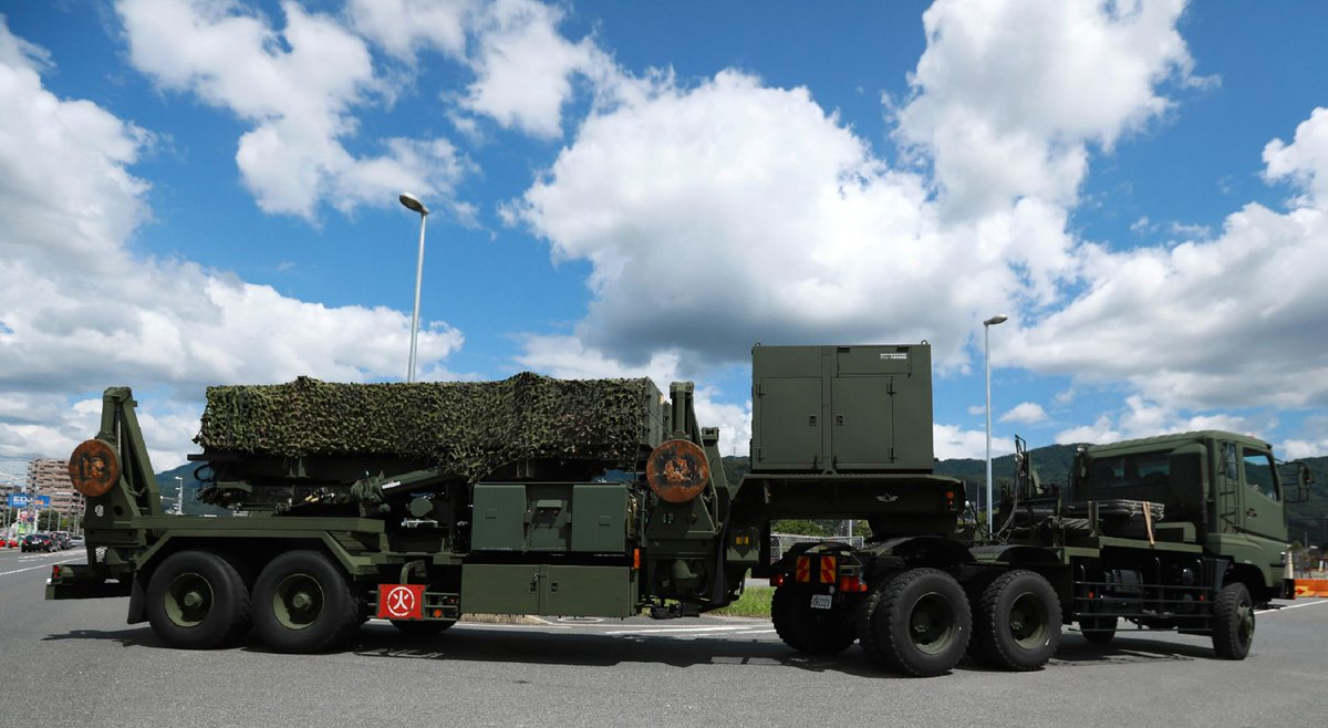 Japan tests alert system in likely flight path of N Korea missiles