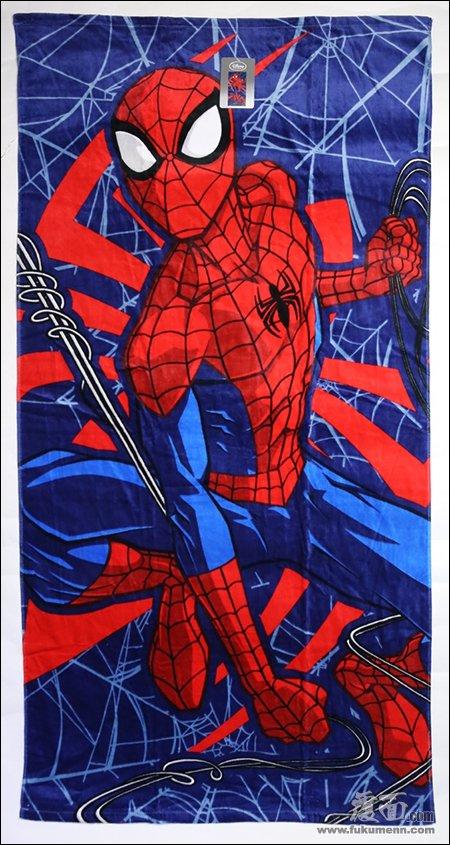 【MARVEL】スパイダーマンとアベンジャーズの特大タオルが入荷しました。並行輸入品。
