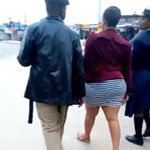 Was this LADY really scantily dressed? Thirsty MEN harassed her in broad-daylight (VIDEO).