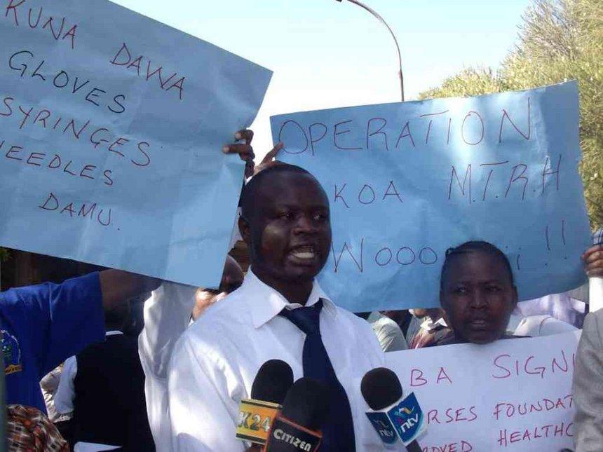 Moi hospital nurses sign deal, call off strike