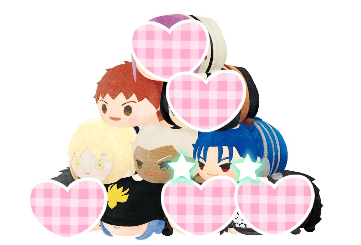 《Fate/stay night[Heaven's Feel]  Fate/Grand Order もちもちマスコット