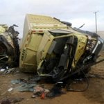 Two die in early morning accident along Nairobi-Mombasa highway