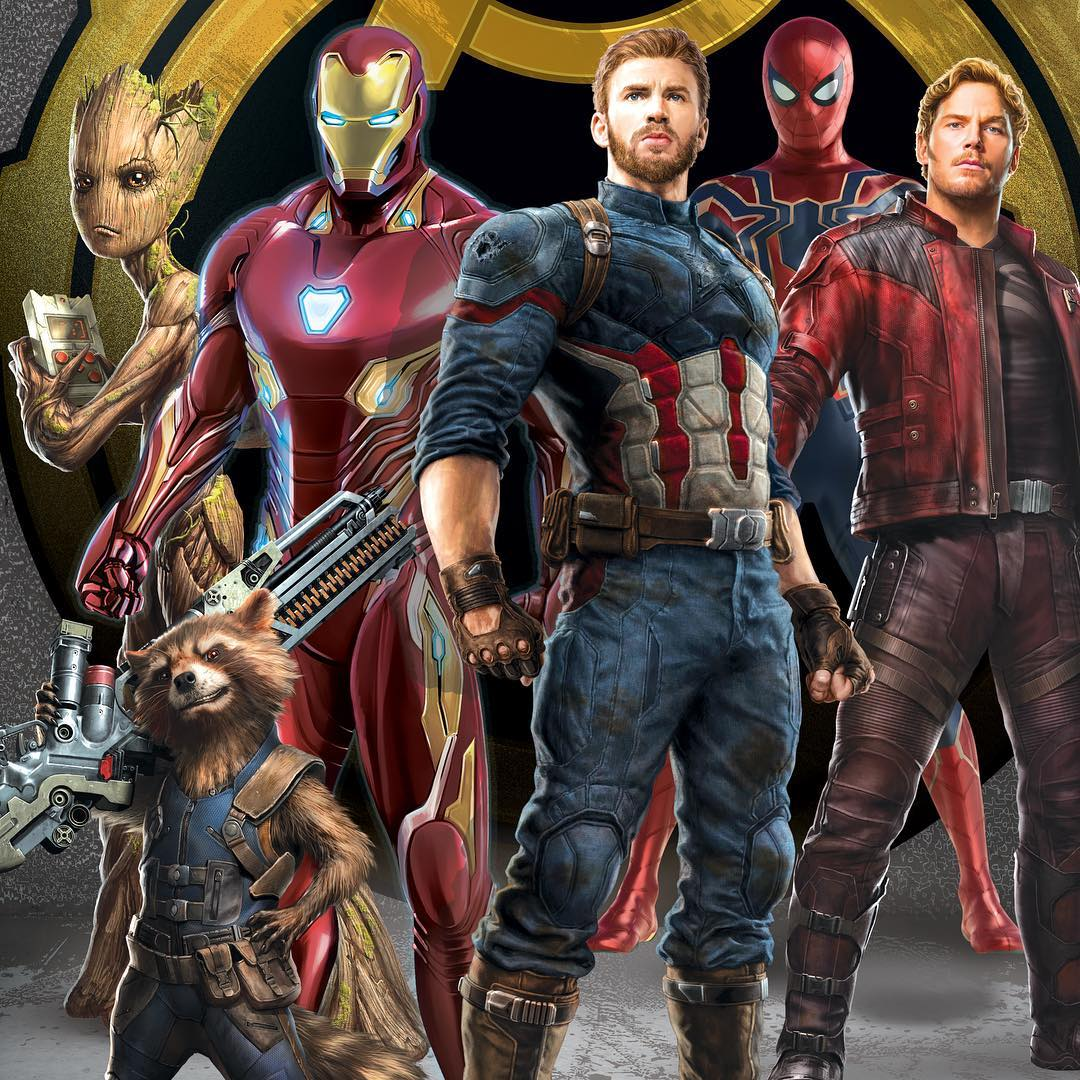 """ジョー・ルッソ、アンソニ・ルッソ監督「アベンジャーズ/インフィニティ・ウォー」(""""Avengers: Infinity"""
