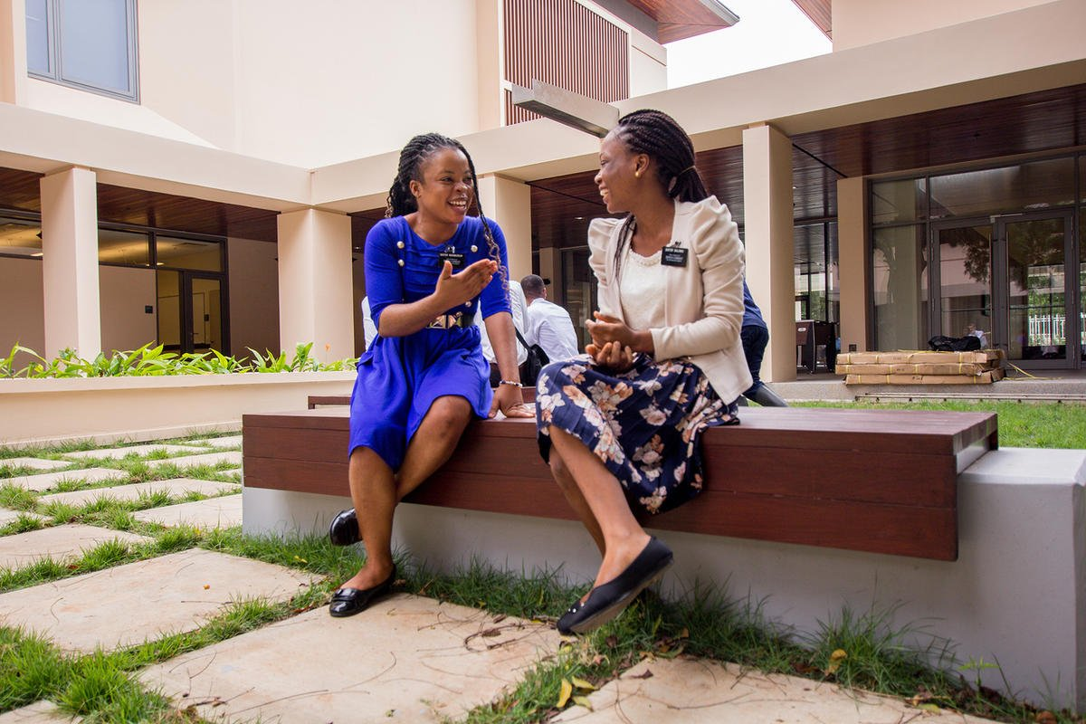 Members, missionaries celebrate new Missionary Training Center in Ghana