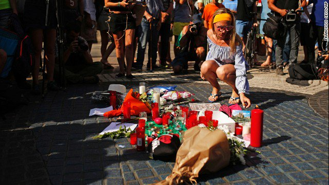 First victim of terror attacks in Spain named as the official death toll rises to 14 https://t.co/kQ6ieDWTtG https://t.co/dT8drNEsoZ