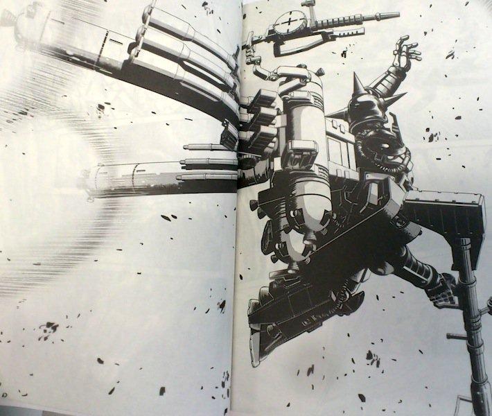 全ガンダム系の漫画で好きなページ機動戦士ガンダム サンダーボルト サイコ・ザク機動戦士Vガンダム