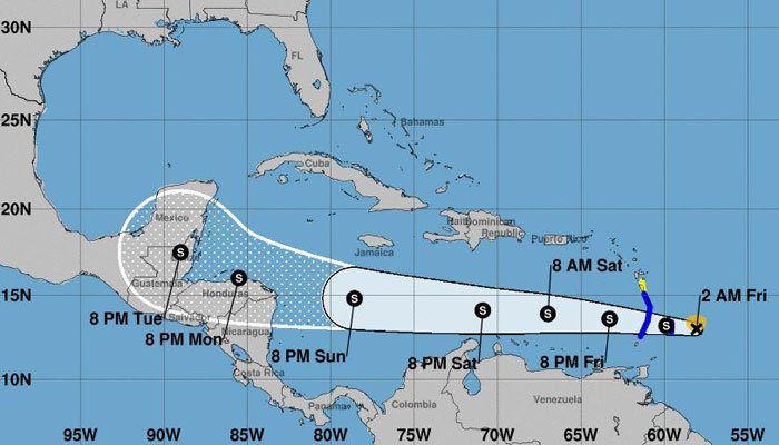 Tropical Storm Harvey forms in the Atlantic - | WBTV Charlotte