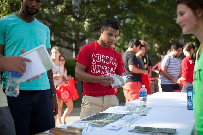 RT @CornellCAS: Here at A&S we're thrilled to extend a big #CornellWelcome to the class of #Cornell2021 arriving on campus today! https://t…