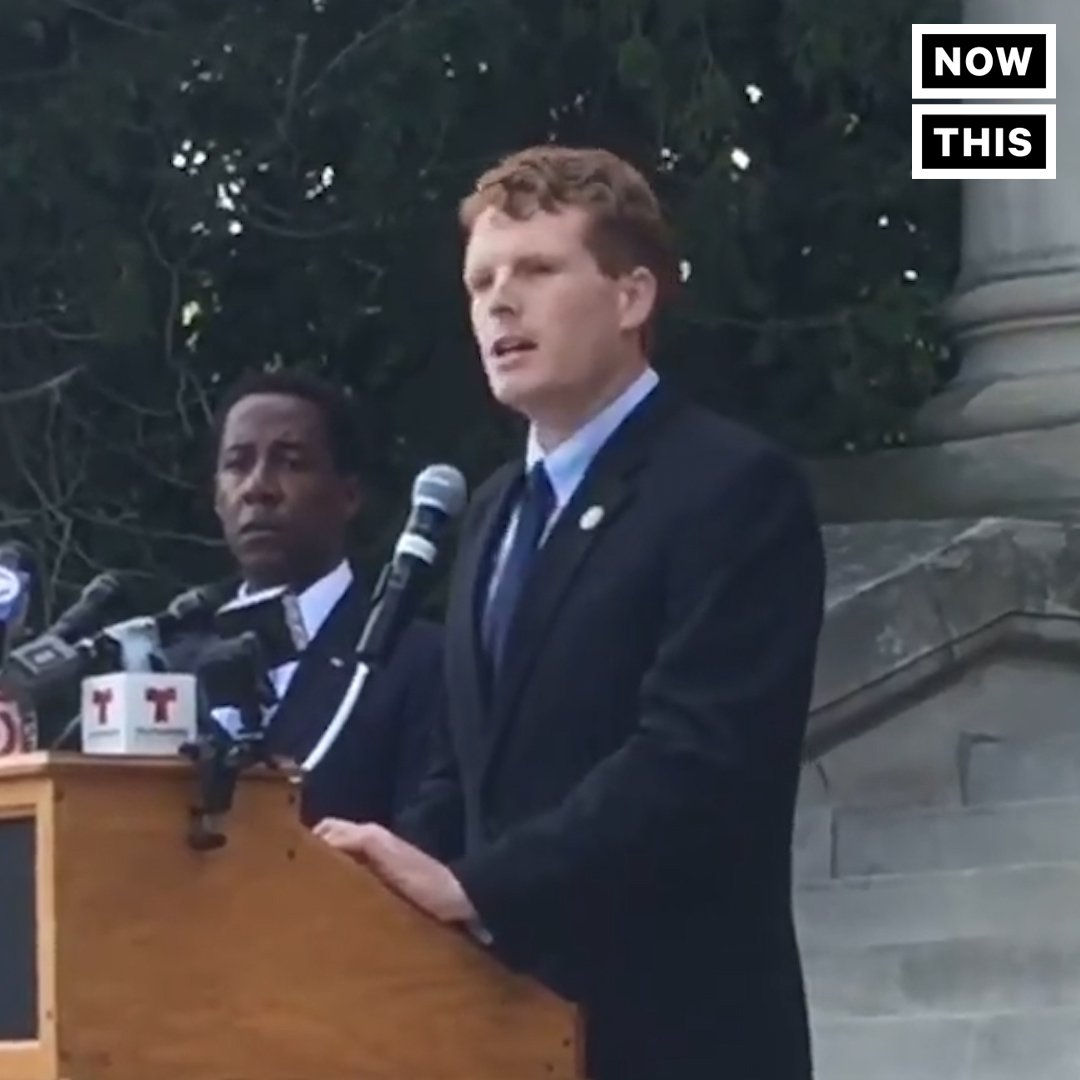 RT @Im_TheAntiTrump: #MAGA #ResistHate   Rep. Joe Kennedy reminds us that we need to remember history, not repeat it https://t.co/lZ65WwVfKW