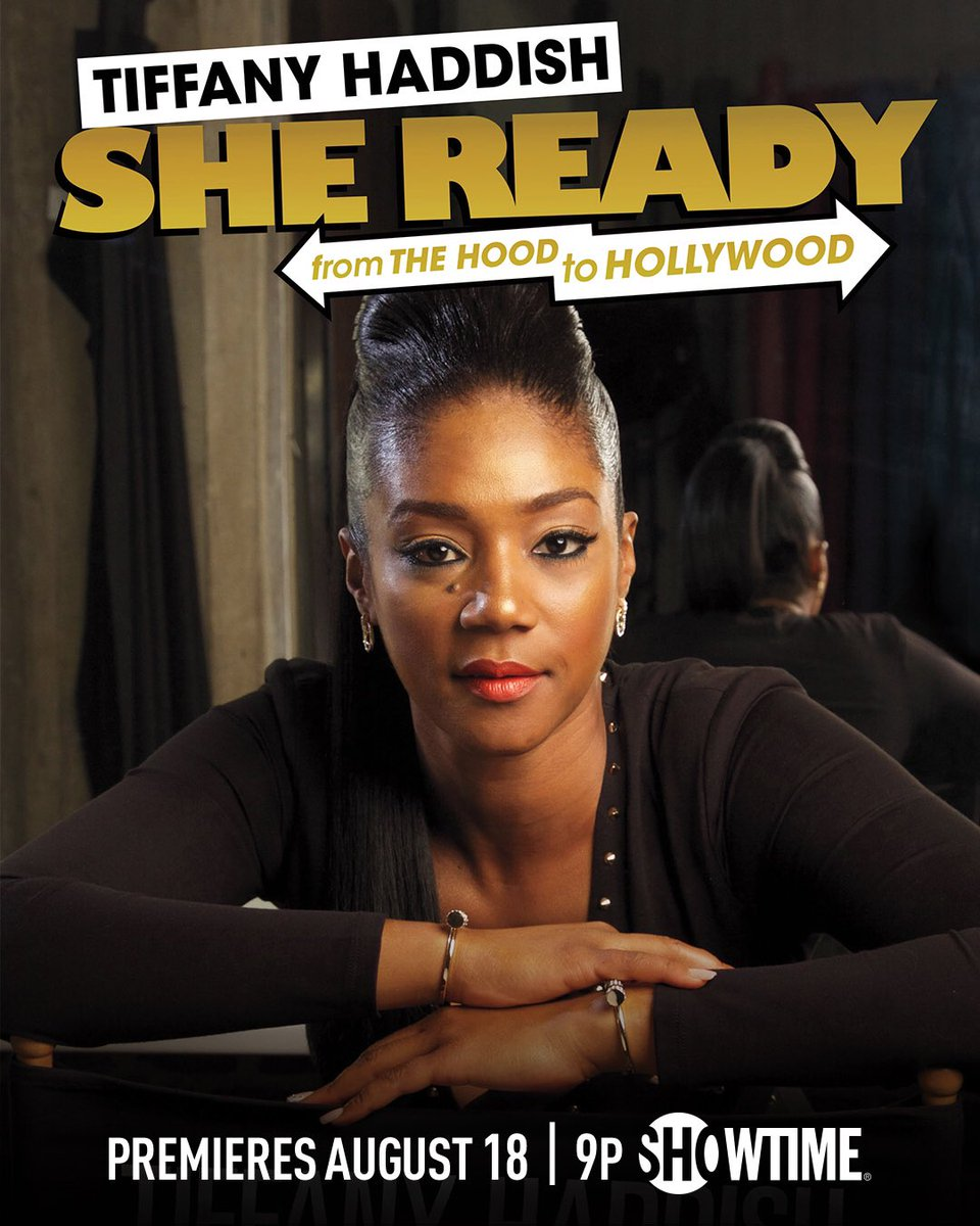 Support our girl @TiffanyHaddish tonight!!!!!! Congrats Tiff! I love you✨ https://t.co/lswnE3ZfEF