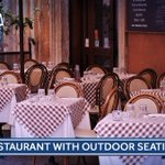 What's the best restaurant with outdoor seating in New Hampshire?