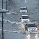 Flash floods and traffic jams in Klang Valley