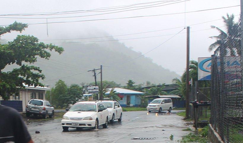 Unseasonal rain due to convective clouds