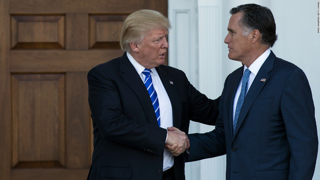 Mitt Romney calls on President Trump to apologize following Trump's Charlottesville comments https://t.co/JrANRn3bD9 https://t.co/FXhCQgYdEx