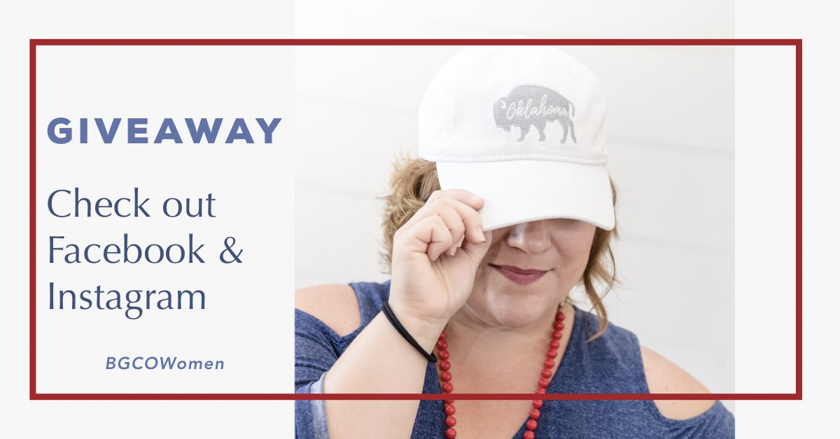 test Twitter Media - There is a GIVEAWAY on our Facebook and Instagram! Go check it out and enter to win our new Oklahoma Women's Hat! #BGCOWomen https://t.co/CmjbwMp4Yp