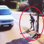 NI KAMA MOVIE! Watch shocking moment when a couple narrowly escape being carjacked
