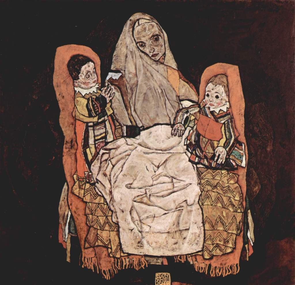 Mother with Two Children — Egon Schiele https://t.co/txt57IMTTe https://t.co/rEKTSVGyUP