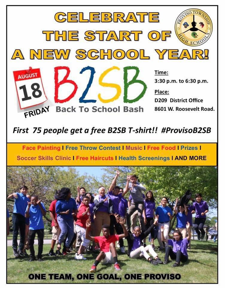 test Twitter Media - Proviso's Back to School Bash is today!  Stop by for some #FunAroundthe7th! My office will have ice cream while supplies last! #BacktoSchool https://t.co/Geyfgbaw14