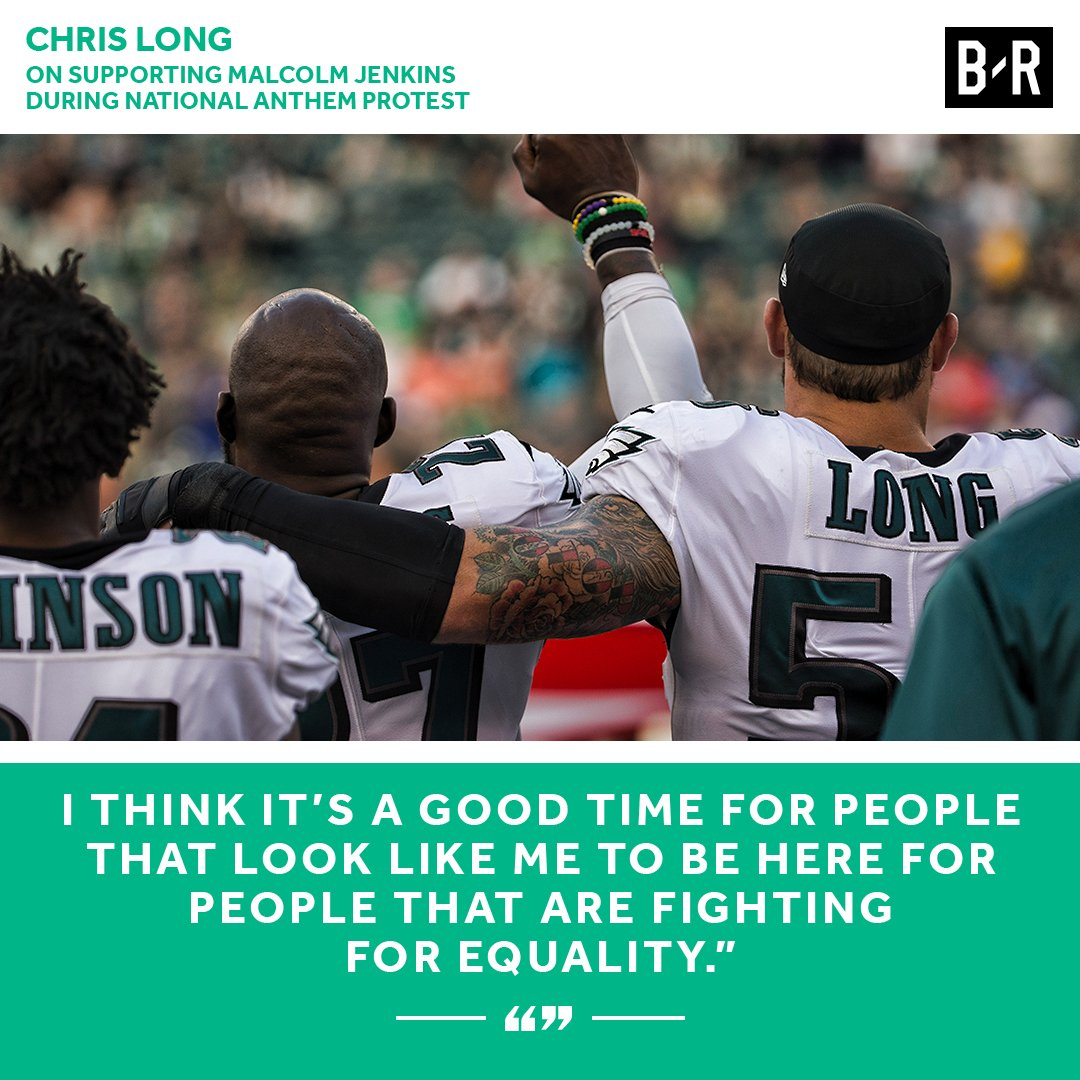 Chris Long takes a stand. https://t.co/vhr47MZeGb