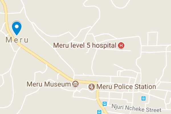 American arrested in Meru over terror link