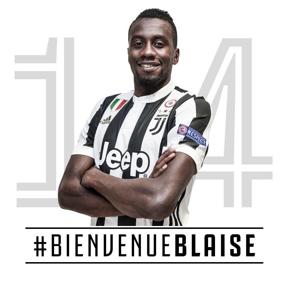 UFFICIALE - @MATUIDIBlaise è Bianconero ⚪️⚫️ https://t.co/0OmrJVmP1s  #BienvenueBlaise https://t.co/aDbsNtmBpj