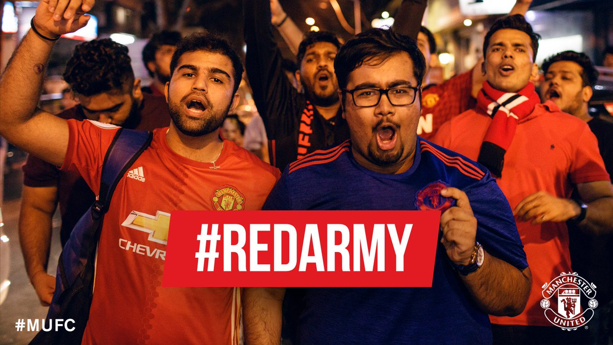 RT @ManUtd: Show us how you're getting ready for our game against Swansea by using the hashtag #RedArmy! #MUFC https://t.co/8Vr2RJNfq5