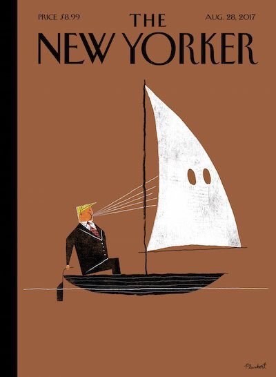 Another amazing front cover. This time from The New Yorker. https://t.co/LW2Xr05b8V