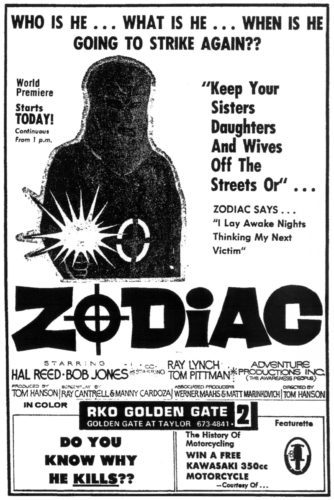 *New KH Post* Goon Review - The Zodiac Killer (1971) https://t.co/SiUl8qlJCR https://t.co/V5ehl9kpSr