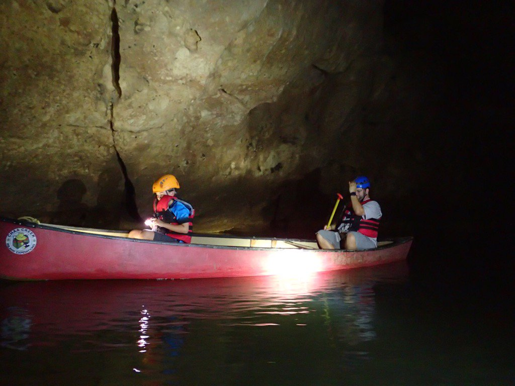 test Twitter Media - Canoeing in a cave w/ Mayan relics in Belize - day trip from @chaacreek https://t.co/efa8J8z0Qy