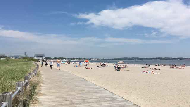 4 state park beaches close for the weekend