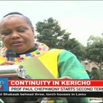 Governor Paul Chepkwony starts second term in Kericho