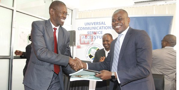 Five telecommunication firms, UCSAF ink rural communication deal