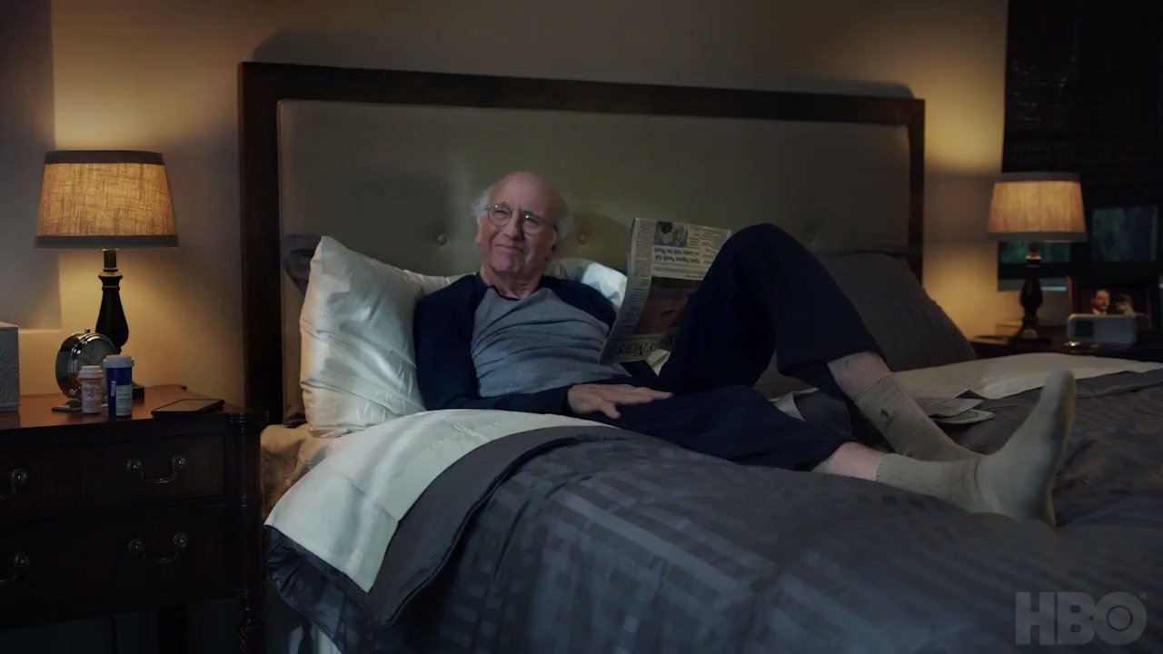 Watch Larry David in the new teaser for #CurbYourEnthusiasm season 9 https://t.co/0fryP0Serx https://t.co/uzhY4qSRXl