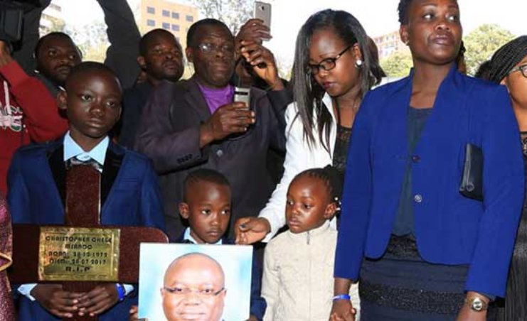 We demand to know Msando's killers, why they took his life