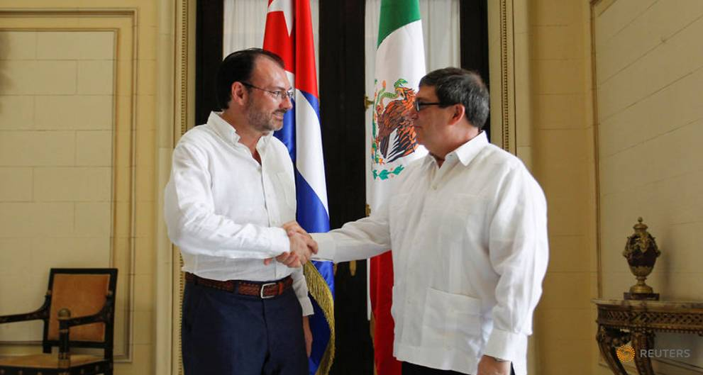 Exclusive - Mexico's top diplomat visits Cuba to seek help on Venezuela crisis