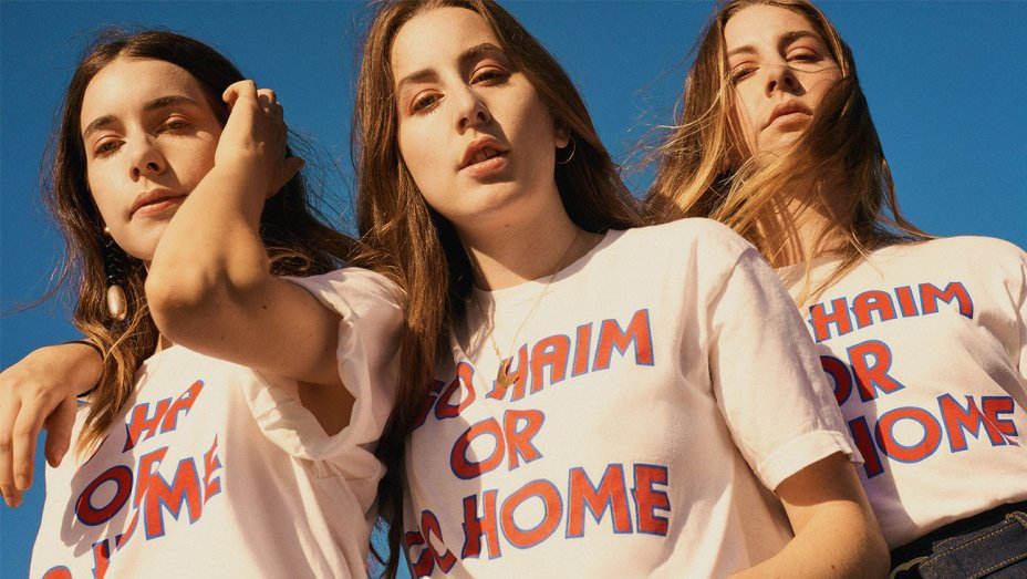 .@HAIMtheband Merch Launches at @UrbanOutfitters: https://t.co/mQTnK528I8 https://t.co/eCC4HT7dVt