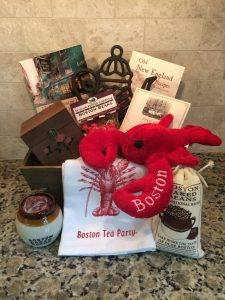 Freedom's Ring Boston Themed Gift Basket Giveaway