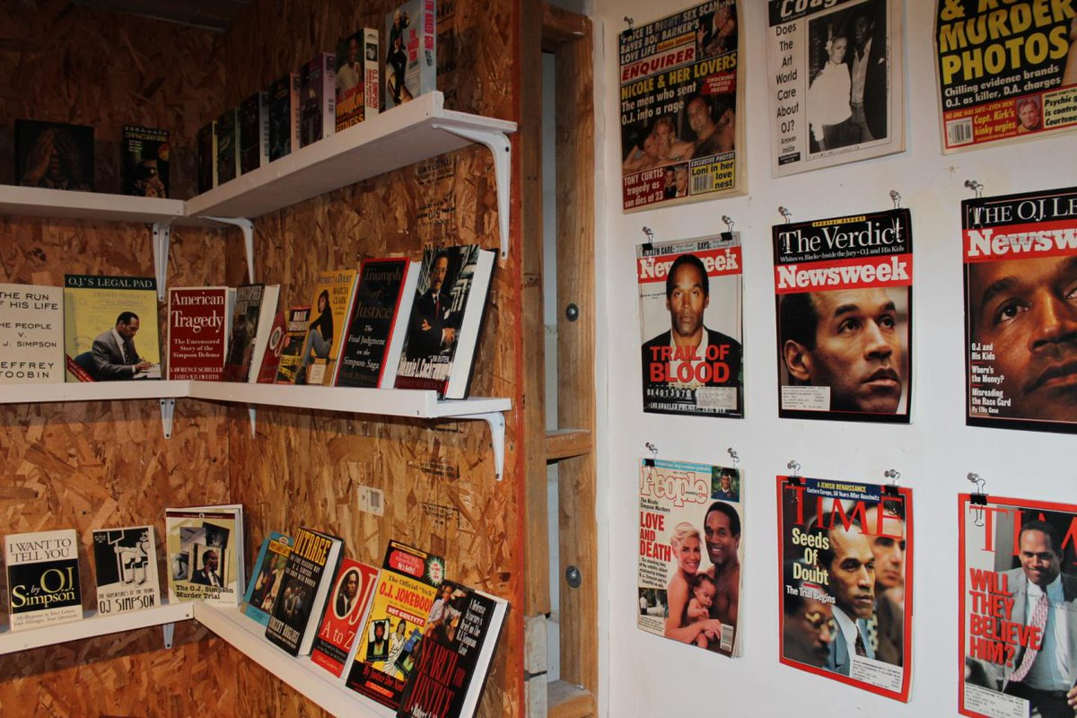 An O.J. Simpson museum in Los Angeles shows how low Americans will go for entertainment
