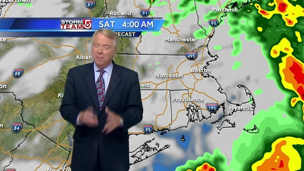 Showers, muggy weather through Saturday